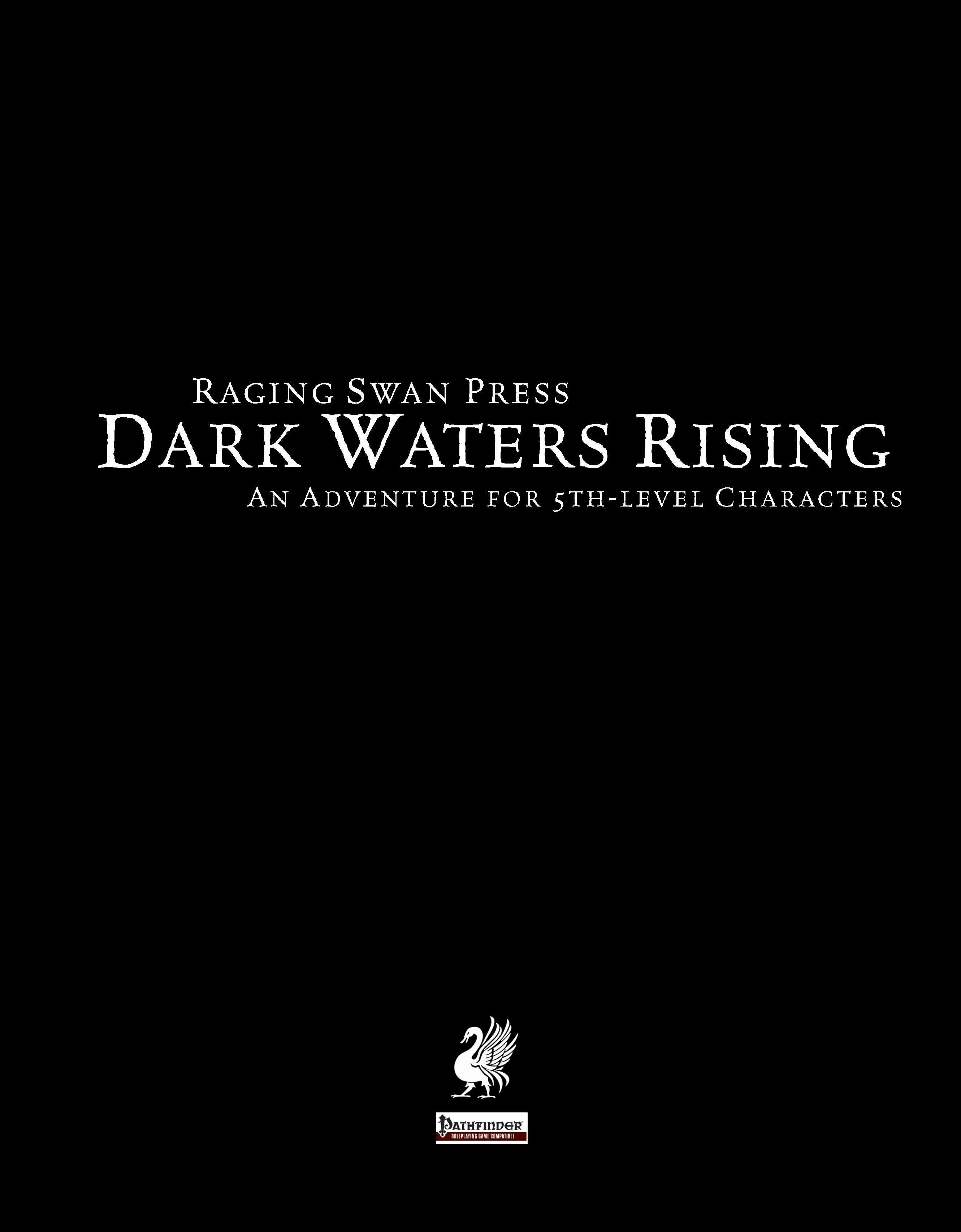 Cover of Dark Waters Rising