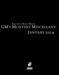 GM's Monthly Miscellany: January 2014 (PFRPG) PDF