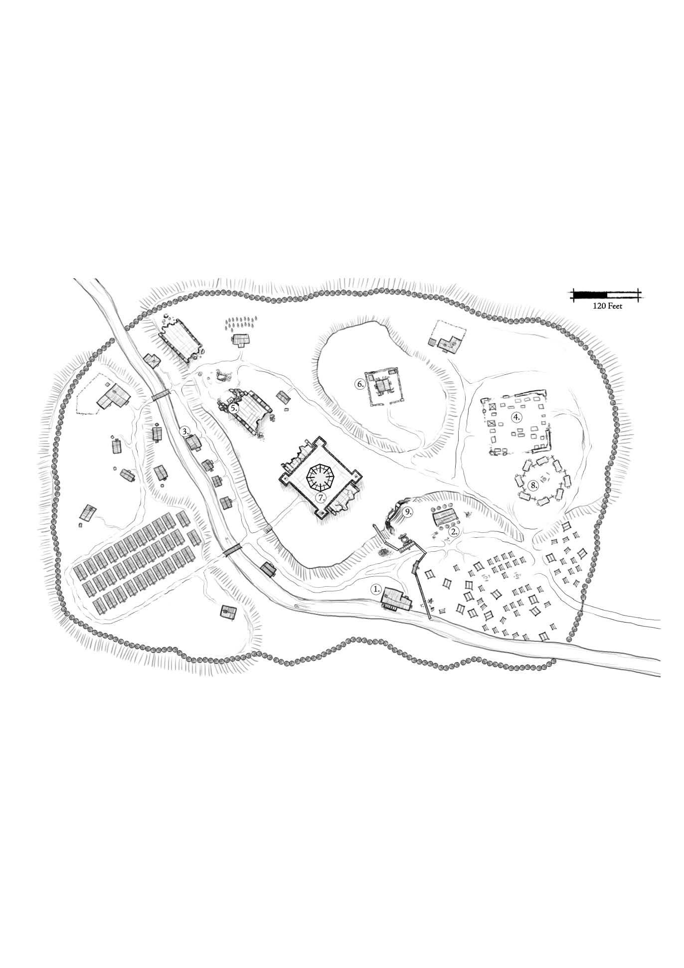 Village Map Download Village Map Ruin Village