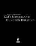 GM's Miscellany: Dungeon Dressing (PFRPG)