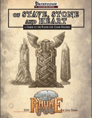 Of Stave, Stone, and Heart: A Guide to the Runes for Game Masters (PFRPG) PDF
