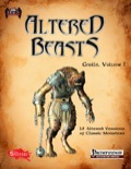 Altered Beasts: Gnolls, Vol. I (PFRPG) PDF