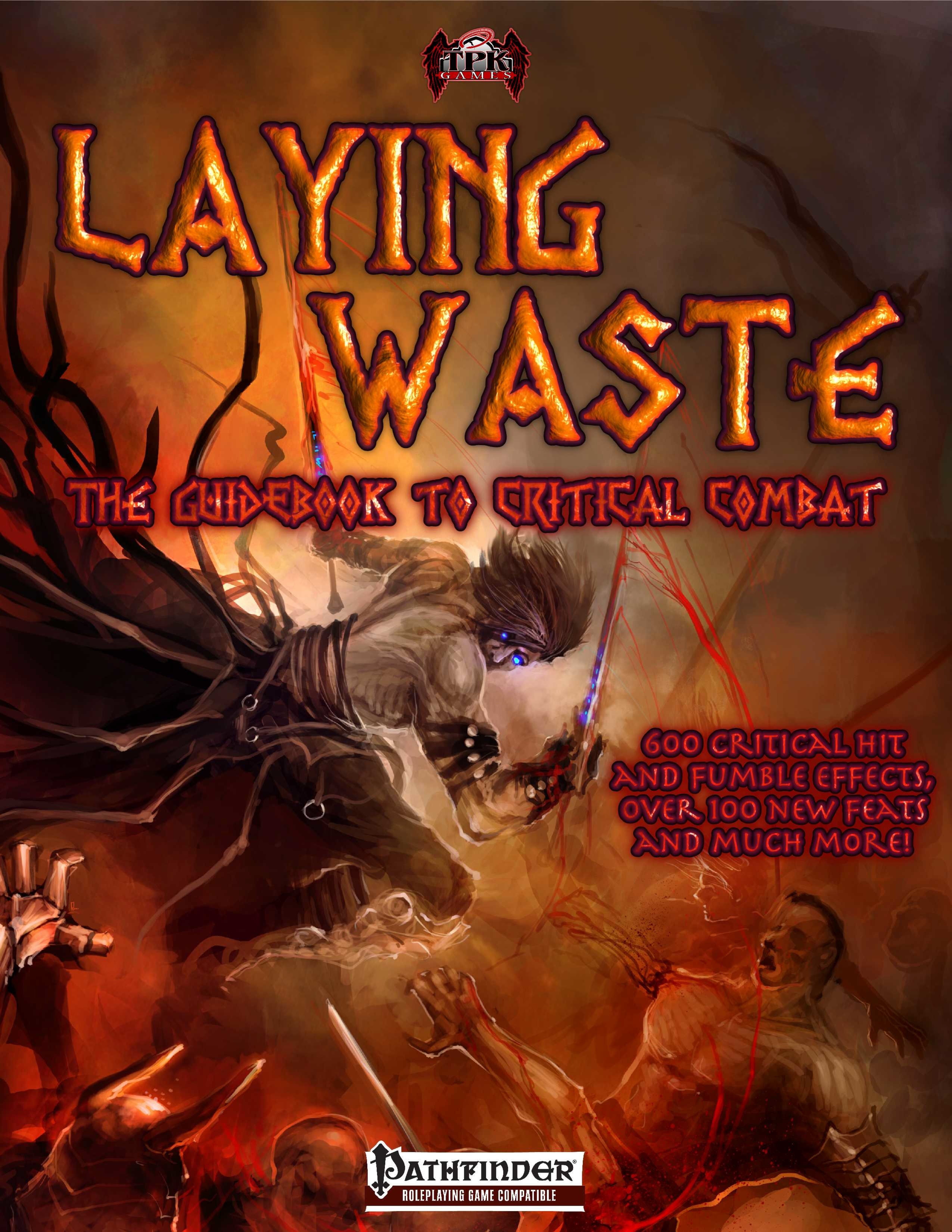 http://paizo.com/products/btpy988z?Laying-Waste-The-Guidebook-to-Critical-Combat