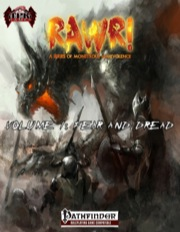 Rawr! Volume 1: Fear and Dread (PFRPG) PDF