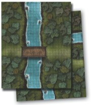 GameMastery Flip-Mat: River Crossing