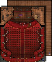 GameMastery Flip-Mat: Theater