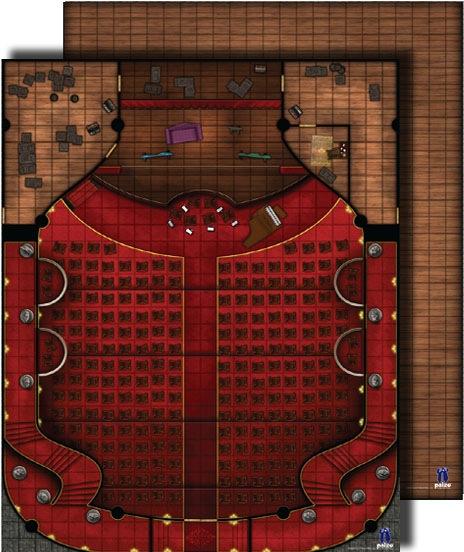 Paizo Com Gamemastery Flip Mat Theater