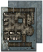 GameMastery Flip-Mat: Waterfront Tavern