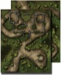 GameMastery Flip-Mat: Swamp