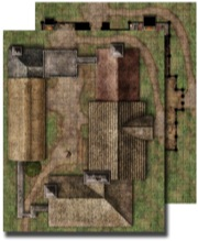 GameMastery Flip-Mat: Country Inn