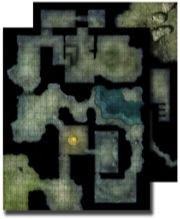 Flip Mat Haunted Dungeon -  Paizo Publishing