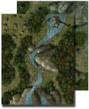 GameMastery Flip-Mat: Deep Forest