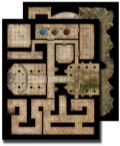 GameMastery Flip-Mat: Ancient Dungeon