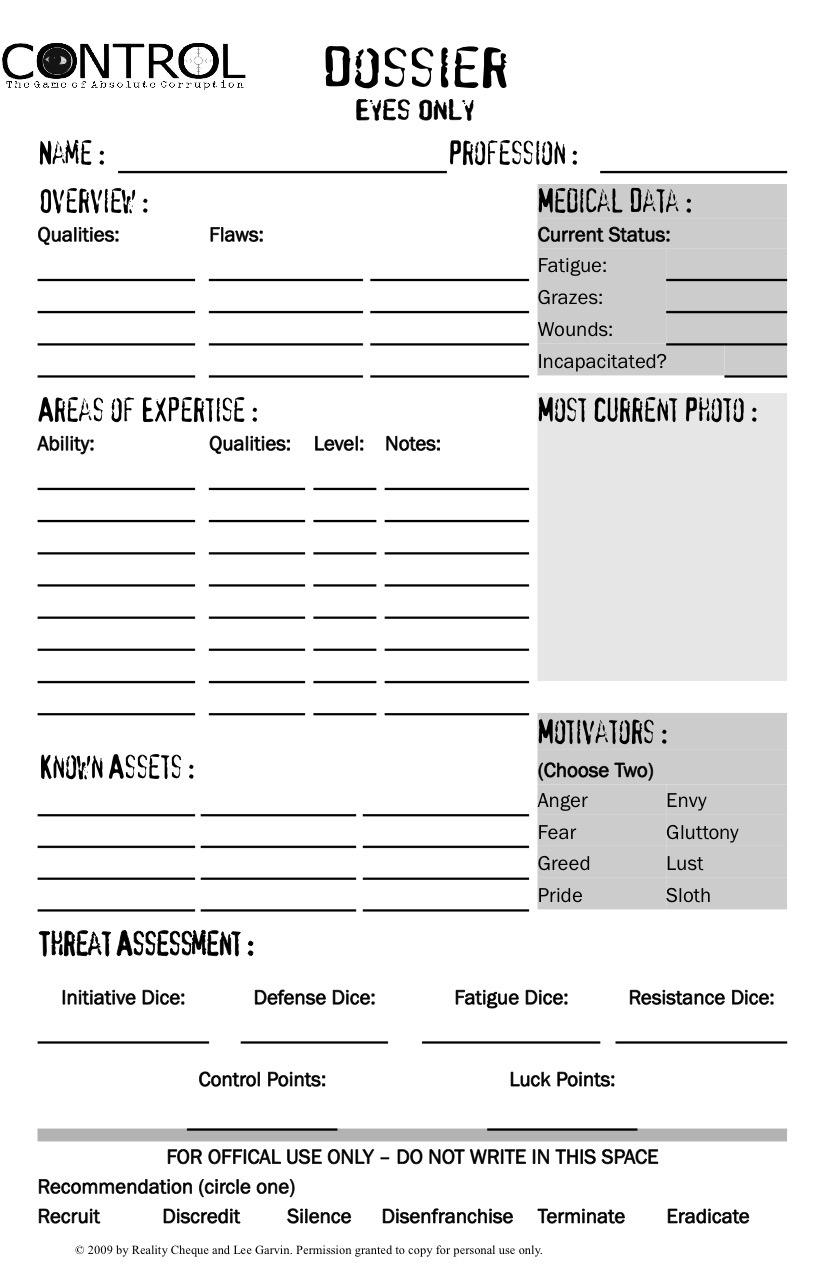pathfinder rpg character sheet pdf