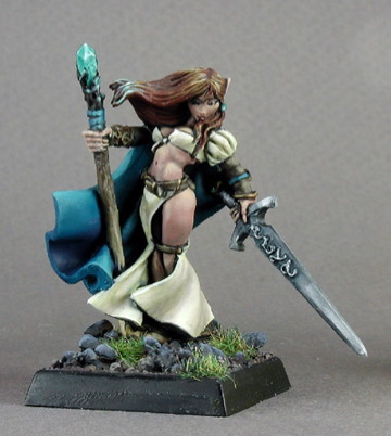 Valeros Pathfinder Miniature paizo.com - Elf Sorcer...