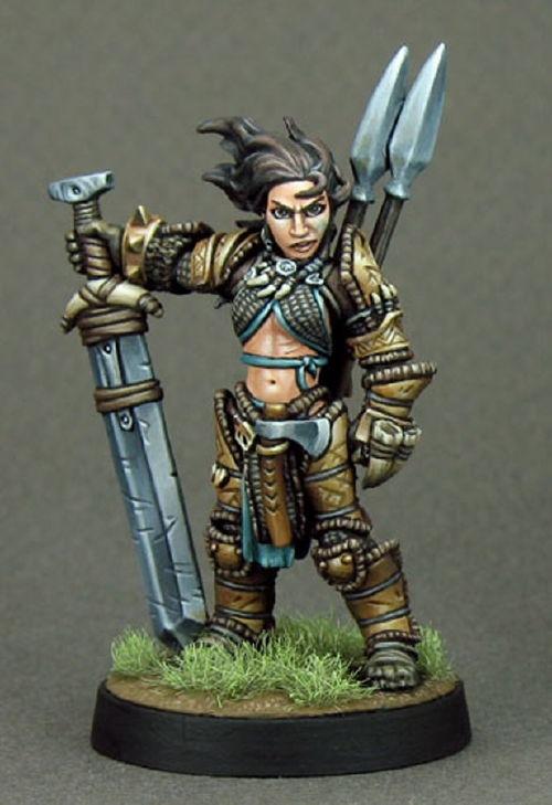 paizocom pathfinder miniatures amiri iconic human