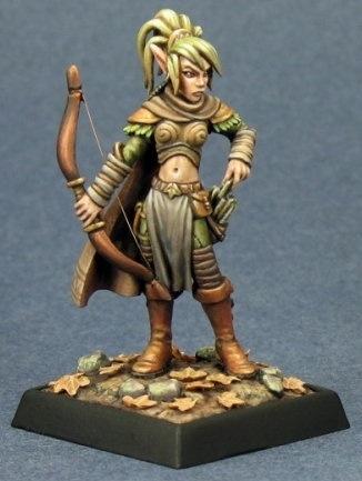 pathfinder miniatures shalelu elf ranger. Black Bedroom Furniture Sets. Home Design Ideas