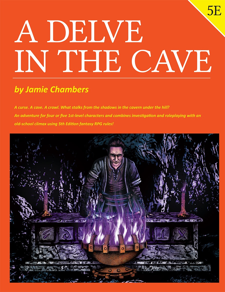 Cover of A Delve in the Cave