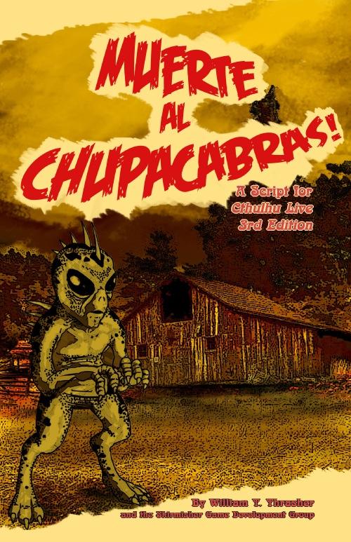 Portada de ¡Muerte al Chupacabras!