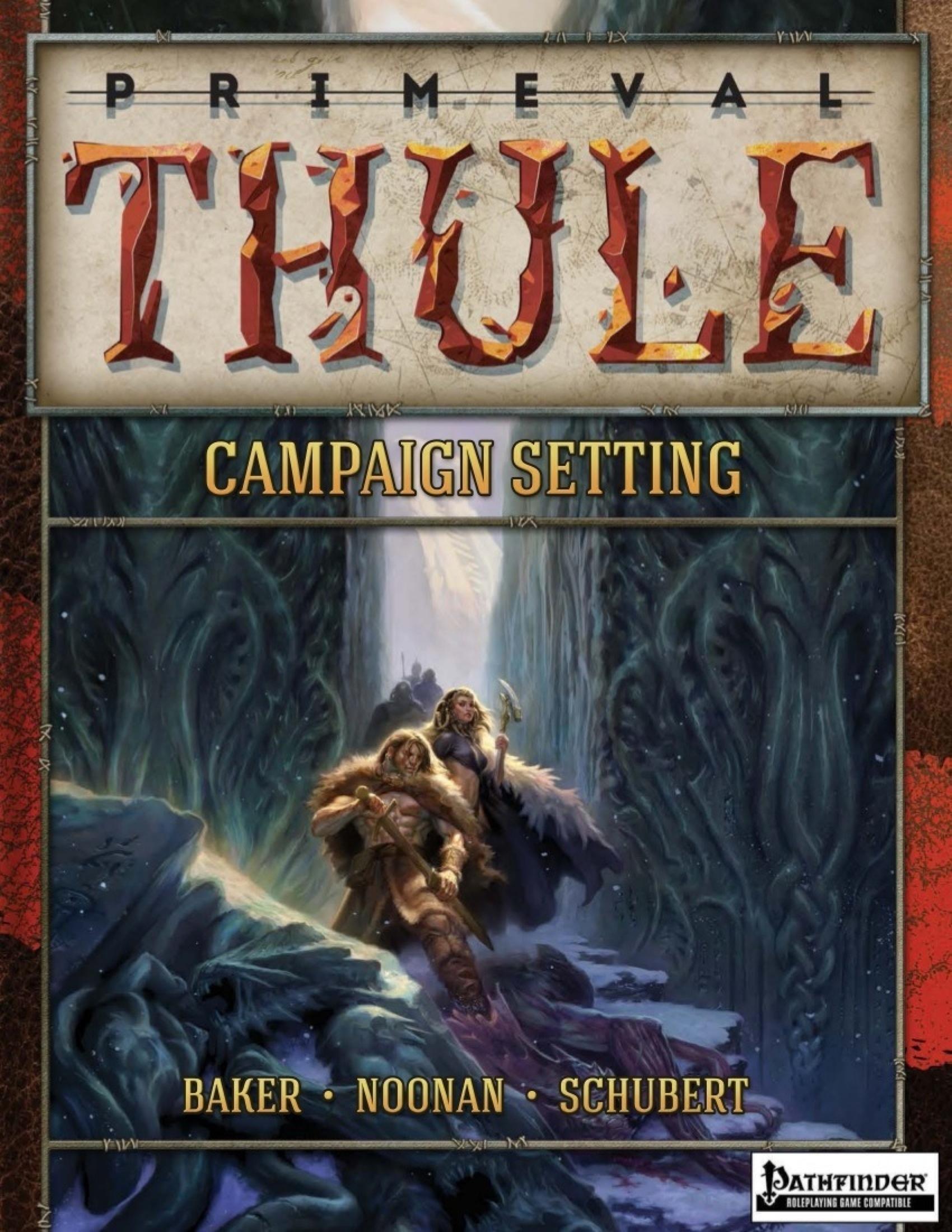 Primeval Thule Campaign Setting: For Pathfinder RPG -  Sasquatch Game Studio