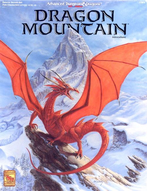 ad&d dragon mountain pdf