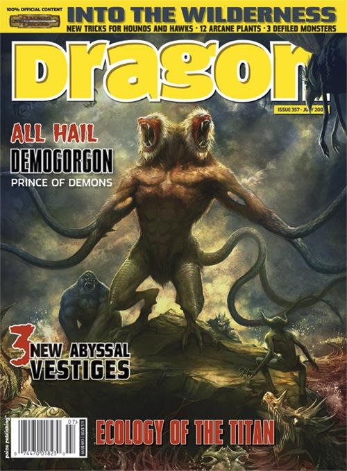 Demogorgon - Dragon Mag Cover~