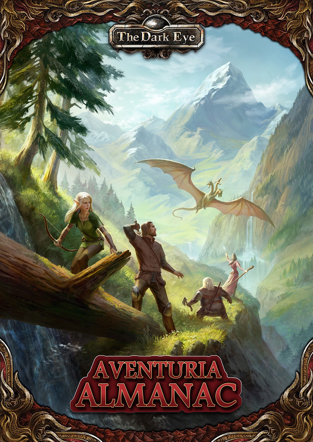 Aventuria Almanac Hardcover: The Dark Eye RPG (T.O.S.) -  Ulisses Spiele