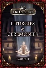 Liturgies and Ceremonies Card Pack: The Dark Eye RPG -  Ulisses Spiele