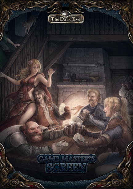 Game Masters Screen and Tavern Guide: The Dark Eye RPG (T.O.S.) -  Ulisses Spiele