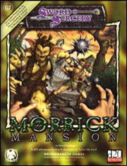 Cover of Morrick Mansion