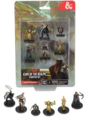 WizKids: Dungeons and Dragons Fantasy Miniatures Set 1 Starter Set (T.O.S.)