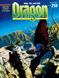 Dragon 218 Cover