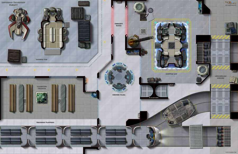Paizo Com Maps Of Mastery Mass Transit Ii Cargo Docks
